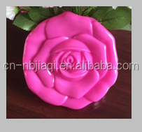 rose pvc coin purse