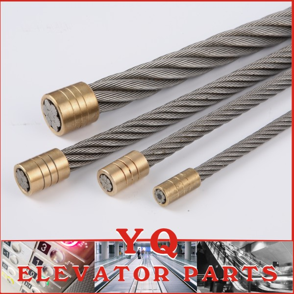 elevator wire rope 8x19S-8.00mm, elevator steel wire rope