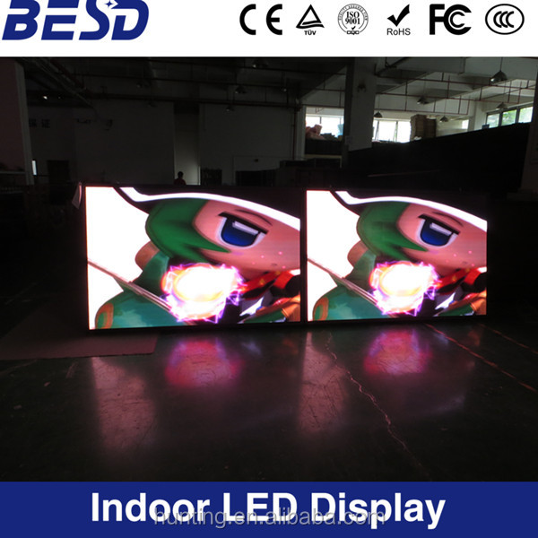 Indoor outdoor HQ &HD full color advertising led display led video wall P3 P4 P5