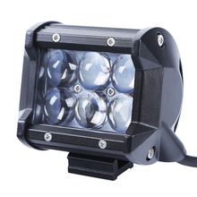 4D Cree Led Work Light Bar Flood Beam Offroad Driving 4WD Truck ATV 6000K SUV cree led bar light off road cree led light bar