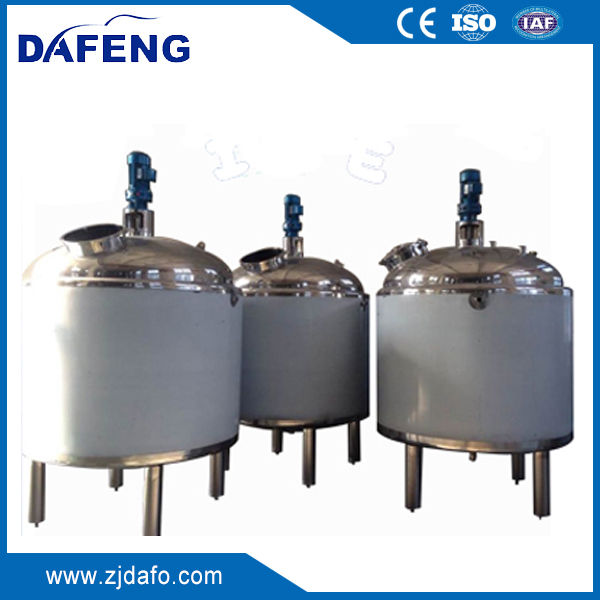 Agitating mixing and cooling tank,dimple jacket blending tank