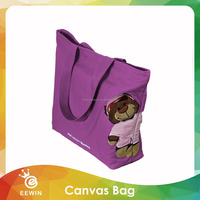 Ample Full Color Lovely Printed Customized Canvas Tote Bag