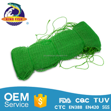 2017 hot sell light 20 years factory pe fishing knotted net
