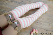 japanese girl cute animal knee high socks animal girls fuzzy socks