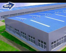 Low Cost Prefabricated EPS Steel Structure Workshop House