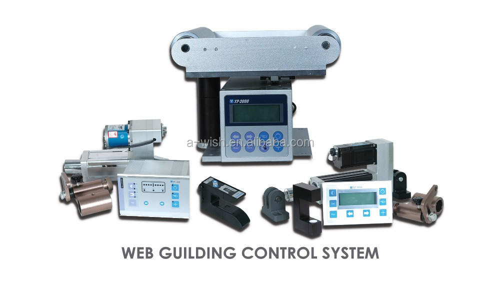 The best quality of Photoelectric Error Correction System with LCD Display for light industrial machines
