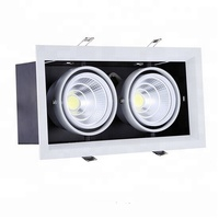 square led downlight square led ceiling light square 2x15w