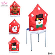 Christmas Chair Decoration Christmas Santa Half Back Chair Covers