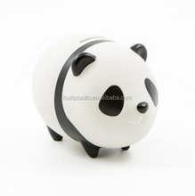 custom pvc cartoon character panda coin bank,pvc vinyl cartoon character panda shape coin banks