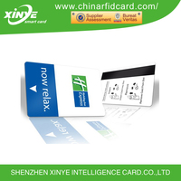 13.56mhz S50 MIFARE Classic (R) 1k RFID NFC PVC Magnetic Strip Hotel Card
