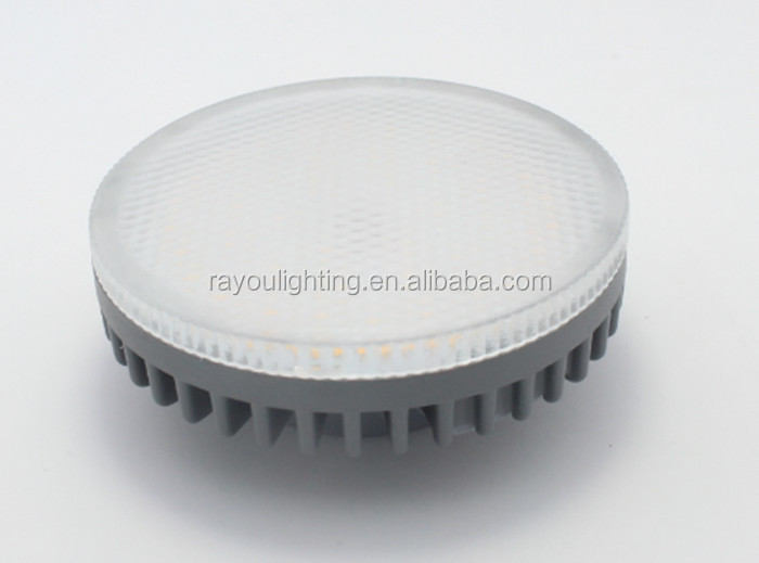 Die-casting GX53 bulb light, gx53 aluminum ceiling light fixture, 10w led cabinet gx53 for inner lighting