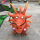 KANO-256 Amusement Park Chinese Factory Customized Dragon Ride For
