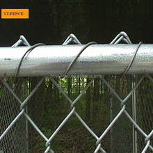 Steel Wire Temporary Cheap Chain Link Fence Panel/Temporary construct chain link fence for dog
