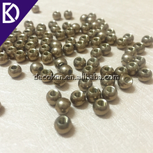 Tapping hole 3mm 5mm 6.35mm 8mm 9mm 11mm brass thread round metal ball