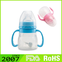Fast Production Highest Level Custom Logo Foldable Silicone China Baby Feeding Bottle