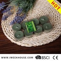 Hot sale natural tealight candle sleeve
