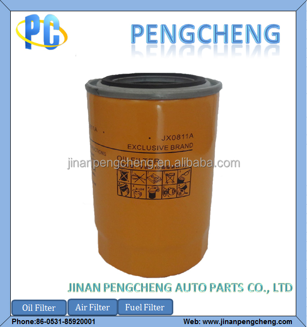 Good quality hepa cartridge Oil Filter JX0811A for forklift/tractor