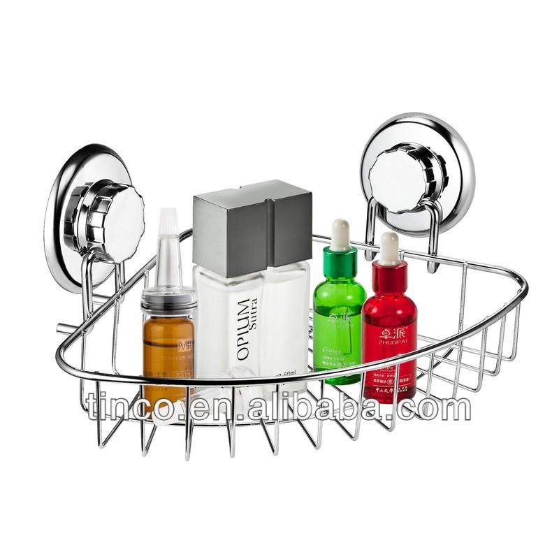 Estantes De Acero Para Baño:de acero inoxidable 304 esquina estante para baño-Estanterías de
