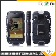 "4.0"" IPS Jeep Z6 IP68 Waterproof Smart Phone Dustproof Shockproof MTK6572 Dual Core 4GB ROM 3G Rugged Mobile Phone"