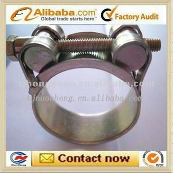 double bolts hose clamp