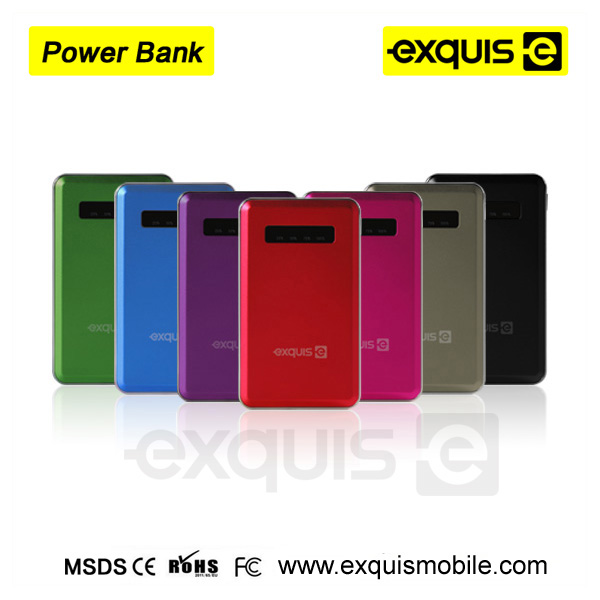 Ultra Slim Card Sized Power Bank thinnest Power Bank in the world Seven colors
