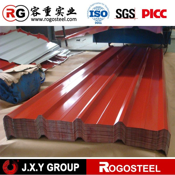 High quality custom colorful galvanized corrugated sheet metal roofing for sale polyethylene container