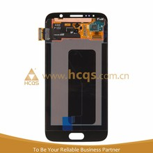 Hot selling for samsung galaxy s6 lcd screen, 100% original lcd assembly display for samsung galaxy s6