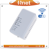 Newest Wireless 500Mbps Powerline wifi PLC Adapter with powerline for IP Camera/ IPTV/VoIP
