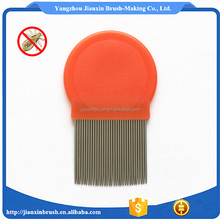 2016 New gifts round plastic hair lice combs