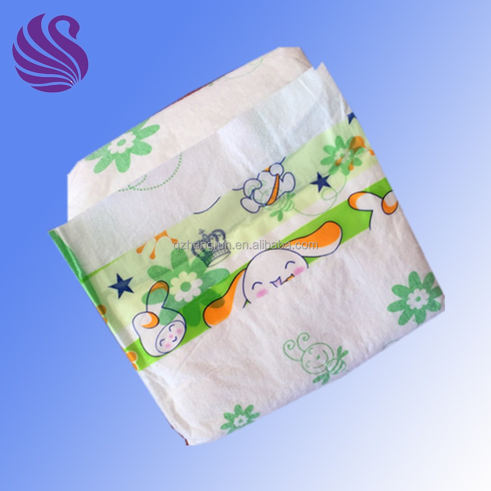 imported raw materials made super dry printed baby diapers for south africa