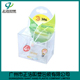 custom small folding transparent clear pvc pet plastic gift packaging box