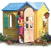 Plastic Kids Play House/Cubby Houses For Children/Indoor Equipment Play House