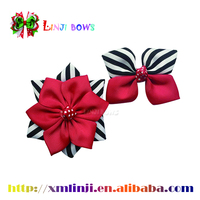 2016 wholesale Cute Cute style ribbon bows hair bows for grils