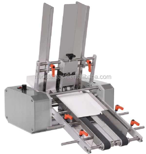 Friction feeding transmission machine for flat products, bag, paper, card/ Automatic Feeder