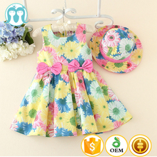 New Model Kid Clothes 2 years Old Baby Summer Flower Girl Dress