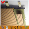 Malaysia markets soundproof wooden acoustic panel/mdf grooved acoustic board