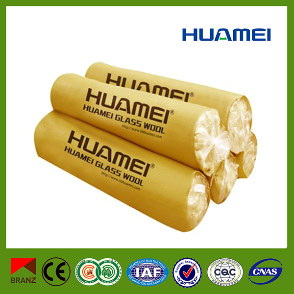 Cheap heat insulation material glass wool blanket