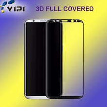 China Supplier 3D Best Sell 9H 0.26mm Tempered Glass Screen Protector Film For Mobile Phone Used Galaxy High Clear S8Plus Glass/