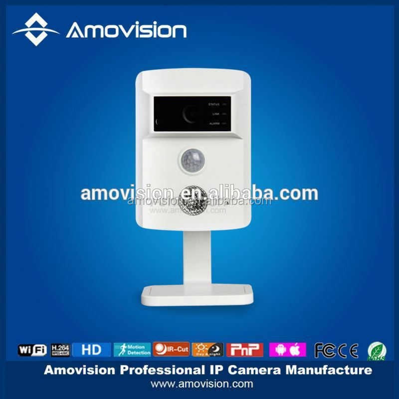 New Product Amovision QF501 Built-in Battery P2P Ap Onvif Wireless Wifi HD mini camera IP Camera