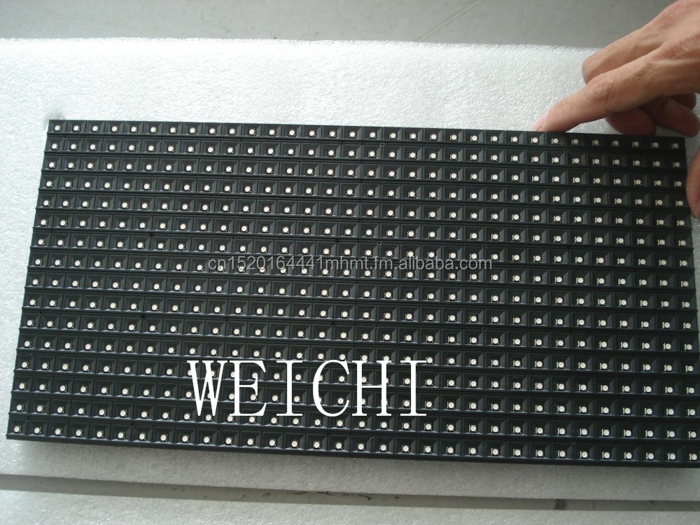 WEICHI 2017 2018 <strong>P10</strong> SMD RGB 3in1 indoor 3528 <strong>LED</strong> <strong>module</strong> <strong>16x32</strong> pixels 320mm x 160mm