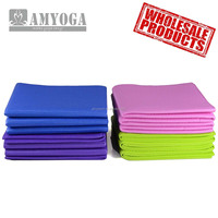 eco-friendly PVC foam folding yoga mat, easy to carry