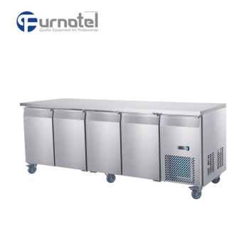 FRUC-3-1 FURNOTEL Under Counter Refrigerator 4 Doors Chiller