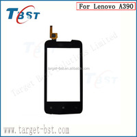 The new original oem digitizer touch screen for Lenovo A390 black&white