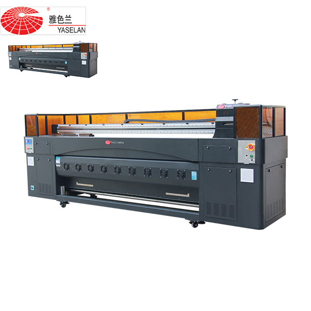 sublimation Yaselan Ysl-S200 printer and large format printer be used for Sublimation paper and Banner and textile printing