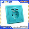 EU standard wall socket Tel/Computer/SCHUKO/TV/SAT/FRENCH