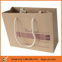 wholesale custom paper bag price