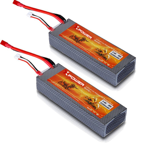 Lithium ion RC Polymer Battery Pack 7.4v 5200mAh 30C Deep Cycle Customized Rechargeable Batteries for RC drones boat toys