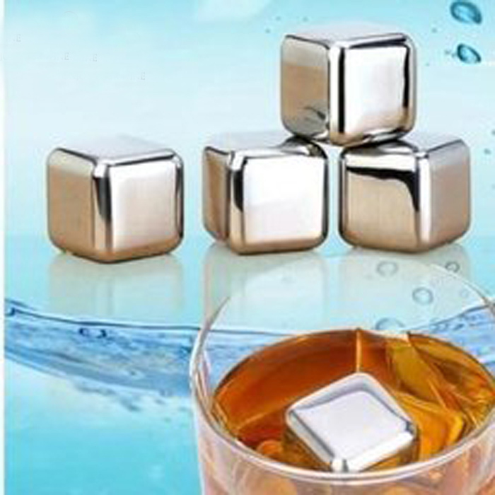 stainless steel Ice Cube whisky stone