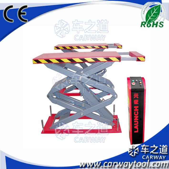 hydraulic used car scissor alignment lift for sale / economical lift