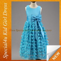 Hot sale summer lace dress all color are available girls party dress pictures for children gown SPSY-262